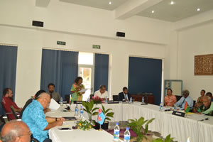 MSG Foreign Ministers endorse MSG Secretariat 2015 Work Program and Budget and Launch Melanesian Solutions