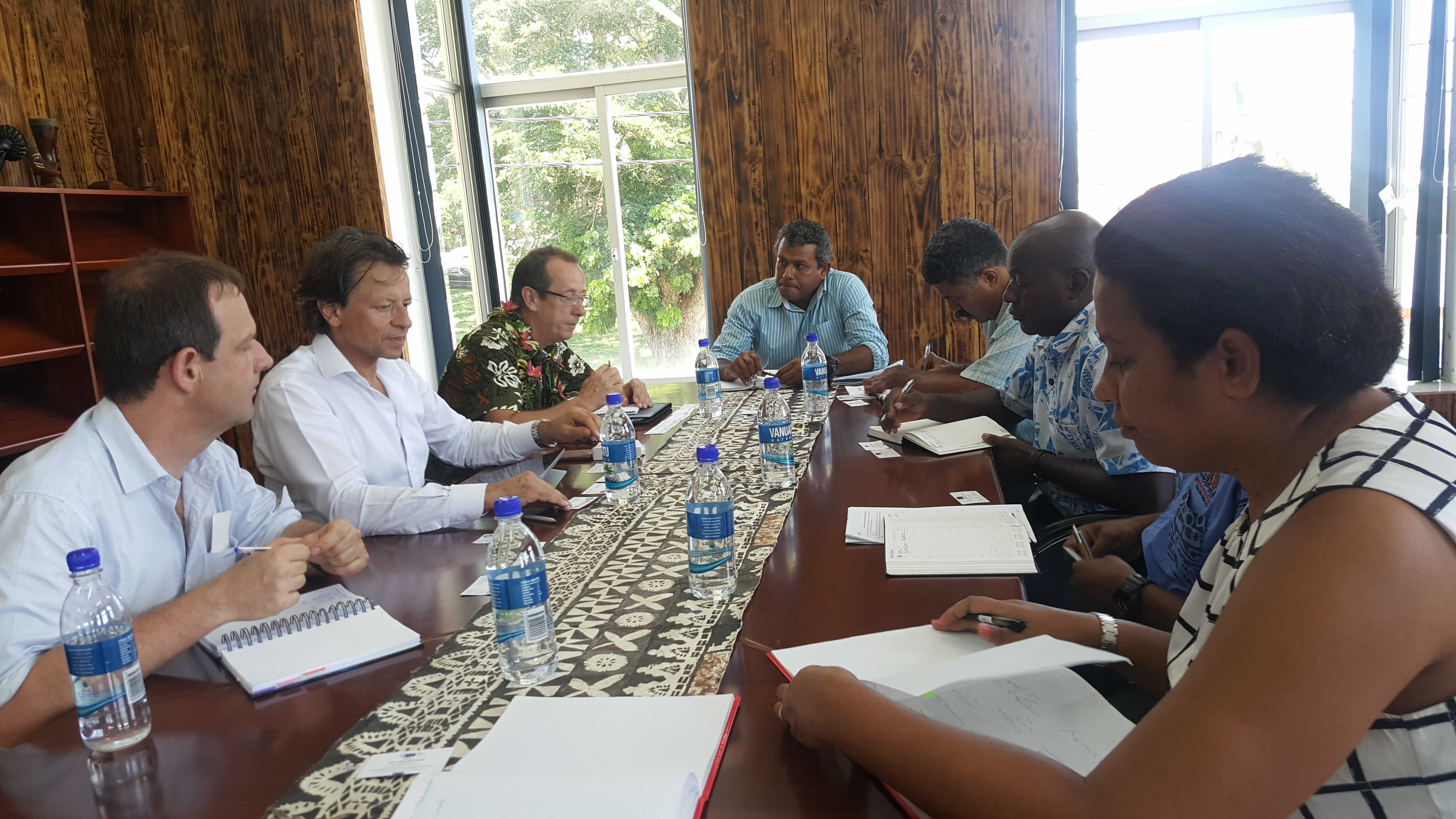 16 March 2016 - EU Ambassador to the Pacific Visit 1