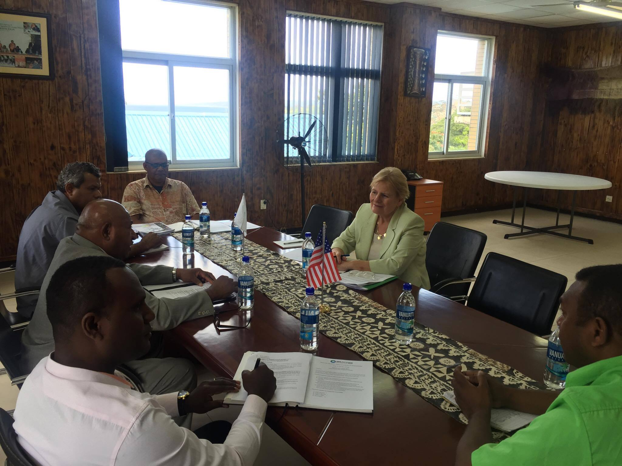 Meeting with US Ambassador based in PNG 1